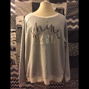 Xhilaration size XL sequin sweater